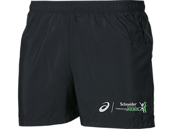 SPLIT SHORTS, PERFORMANCE BLACK