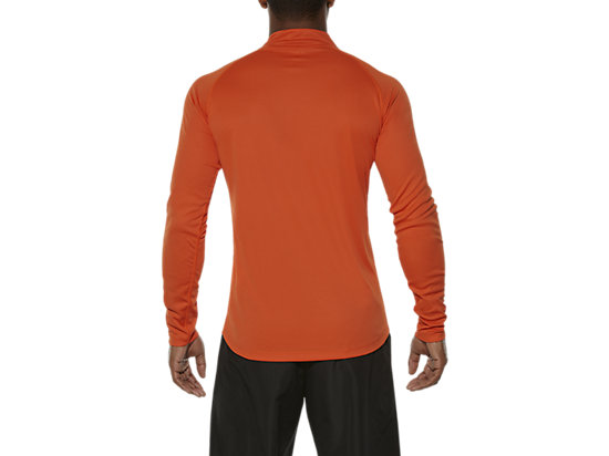 ASICS STRIPE LONG-SLEEVED HALF-ZIP TOP KOI 11