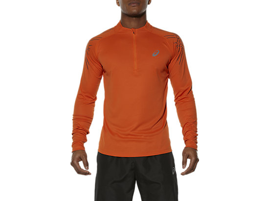 ASICS STRIPE LONG-SLEEVED HALF-ZIP TOP KOI 3
