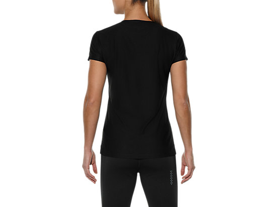 GRAPHIC SHORT-SLEEVED TOP PERFORMANCE BLACK 11