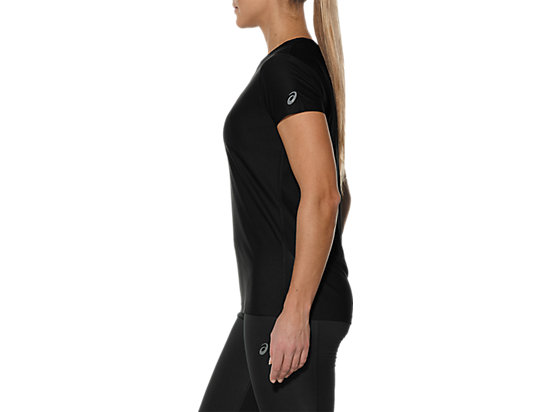 GRAPHIC SHORT-SLEEVED TOP PERFORMANCE BLACK 7
