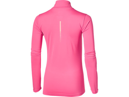 LS 1/2 ZIP TOP CAMELION ROSE 15 BK