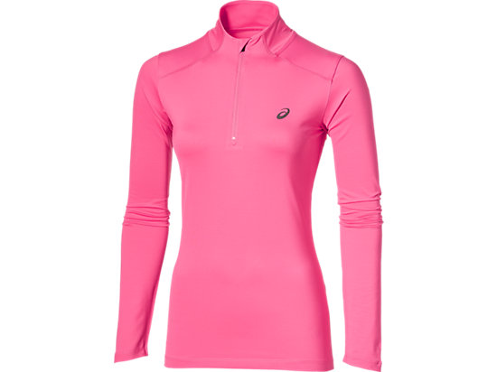 LS 1/2 ZIP TOP CAMELION ROSE 3 FT