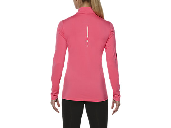 LS 1/2 ZIP TOP CAMELION ROSE 19 BK