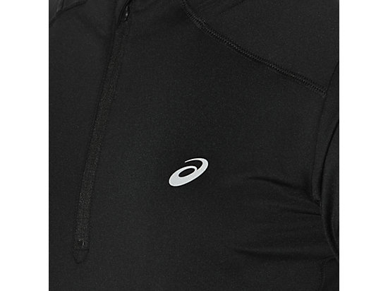 LS 1/2 ZIP TOP PERFORMANCE BLACK 23