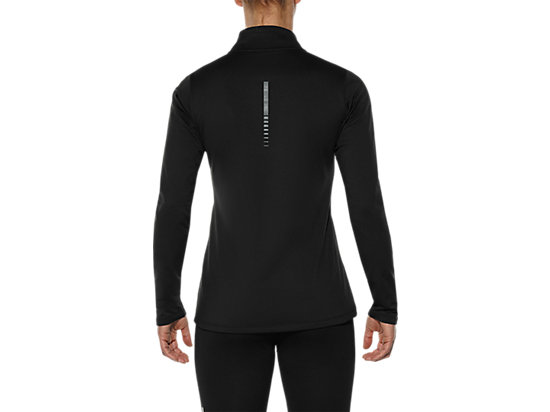 CAMISETA CON MEDIA CREMALLERA PARA INVIERNO PERFORMANCE BLACK 11