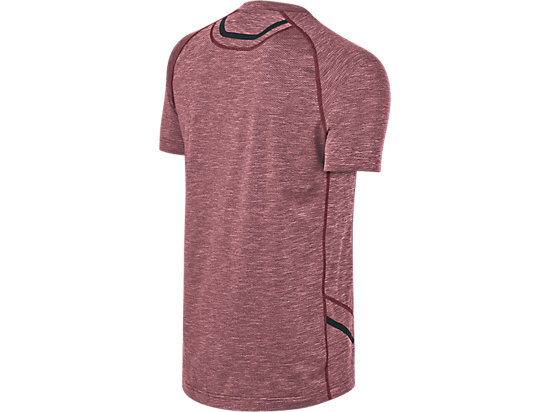 Mesh Short Sleeve Crew Pomegranate 7