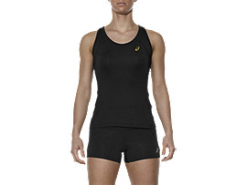 SPORTS TANK TOP, Performance Black