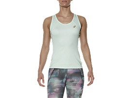 Front Top view of SPORT-TANKTOP, Soothing Sea