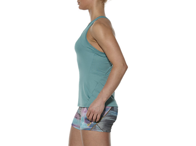 Alternative image view of SPORTS TANK TOP, Kingfisher