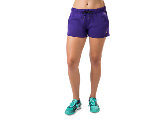 Fleece Short Parachute Purple 3