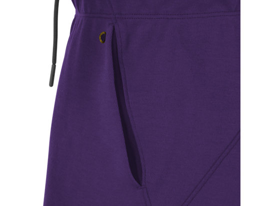 Fleece Short Parachute Purple 23