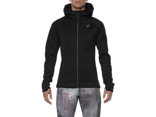 NEOPRENE FULL ZIP HOODY, Performance Black