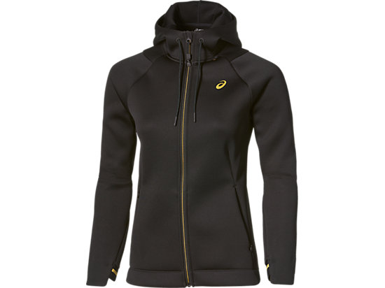 NEOPRENE FULL ZIP HOODY PERFORMANCE BLACK 3 FT