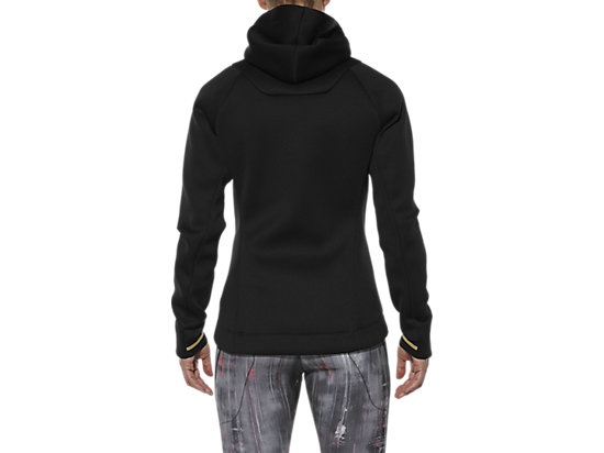 NEOPRENE FULL ZIP HOODY PERFORMANCE BLACK 19 BK