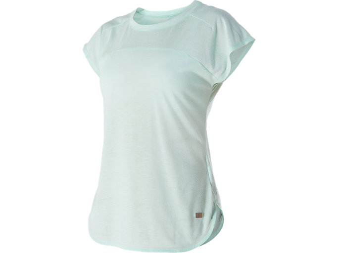 Front Top view of SHORT SLEEVE TOP , Soothing Sea