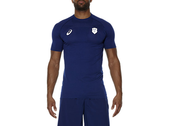 CAMISETA SIN COSTURAS STADE FRANÇAIS, Blue Depths