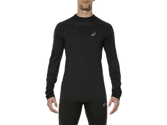 SEAMLESS LS PERFORMANCE BLACK 7 FT
