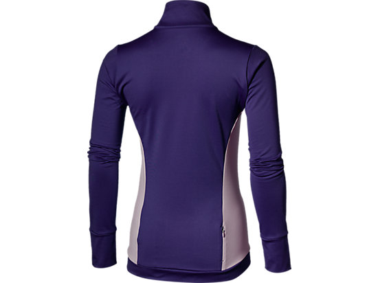 LONG-SLEEVED HALF-ZIP WINTER TOP PARACHUTE PURPLE 15