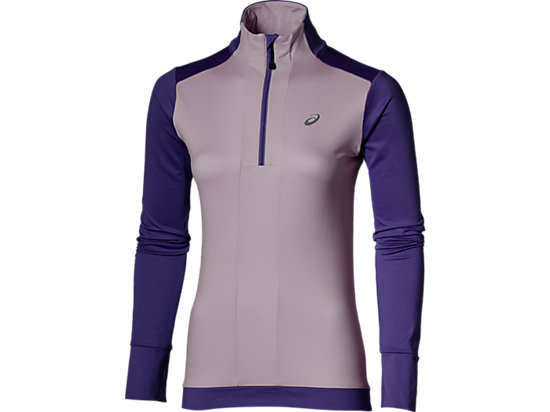 LONG-SLEEVED HALF-ZIP WINTER TOP PARACHUTE PURPLE 3
