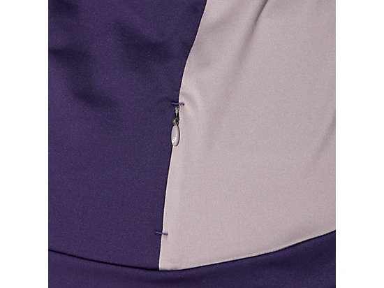 LONG-SLEEVED HALF-ZIP WINTER TOP PARACHUTE PURPLE 23