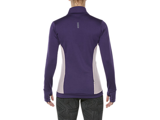 LONG-SLEEVED HALF-ZIP WINTER TOP PARACHUTE PURPLE 19