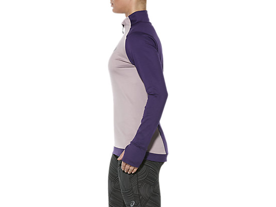 LONG-SLEEVED HALF-ZIP WINTER TOP PARACHUTE PURPLE 11