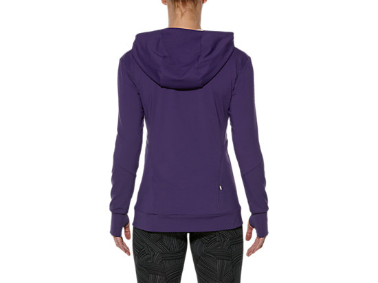 LONG-SLEEVED JERSEY HOODIE PARACHUTE PURPLE 11