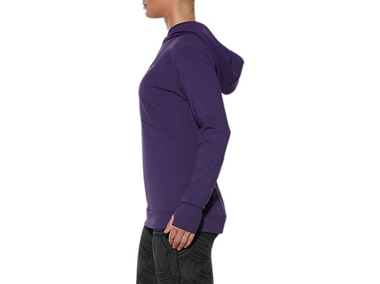 LONG-SLEEVED JERSEY HOODIE PARACHUTE PURPLE 7