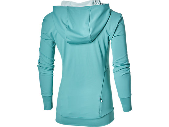 LONG-SLEEVED JERSEY HOODIE KINGFISHER 15