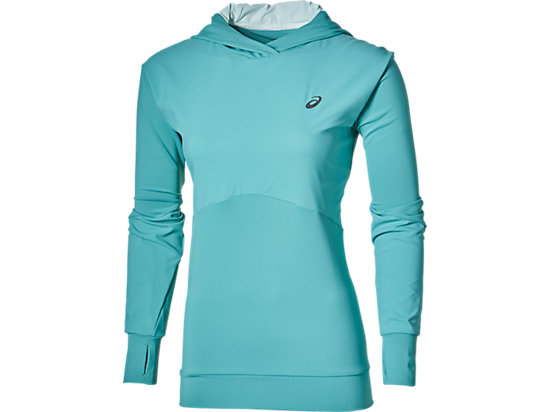 LONG-SLEEVED JERSEY HOODIE KINGFISHER 3
