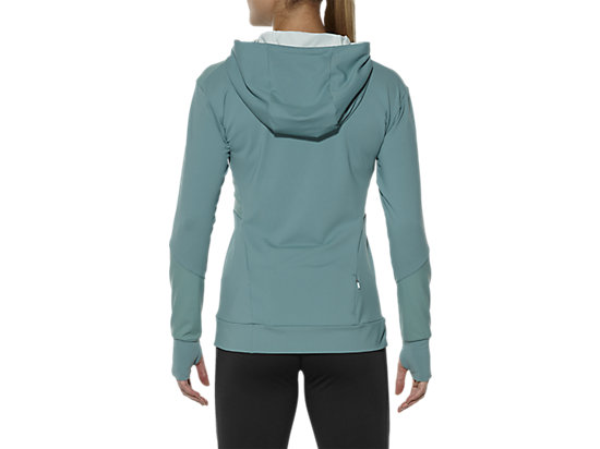 LONG-SLEEVED JERSEY HOODIE KINGFISHER 19