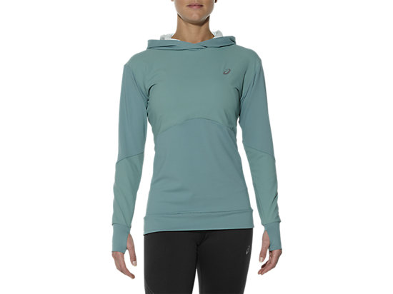 LONG-SLEEVED JERSEY HOODIE KINGFISHER 7