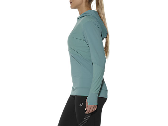 LONG-SLEEVED JERSEY HOODIE KINGFISHER 11