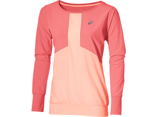 LONG-SLEEVED CREW TOP CAMELION ROSE 3 FT