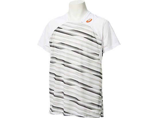 Athlete Short Sleeve Top High Rally White 3