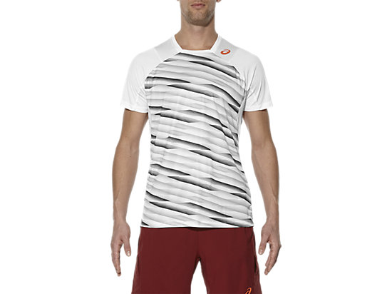 CAMISETA DE MANGA CORTA ATHLETE HIGH RALLY WHITE 3