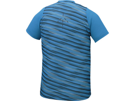 Athlete Short Sleeve Top High Rally Blue Jewel 15