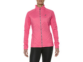 Front Top view of HYBRID JACKET, Camelion Rose