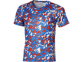 Front Top view of BOY'S PERFORMANCE TOP, Imperial Boys Camo