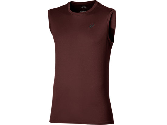 SLEEVELESS TOP RIOJA RED 3