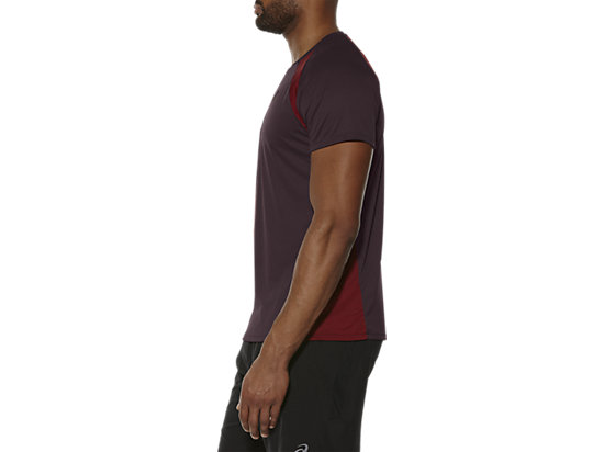 SHORT SLEEVE TECH TOP RIOJA RED 7