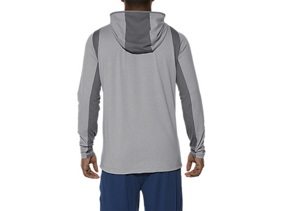 SWEAT À CAPUCHE ZIPPÉ HEATHER GREY 11