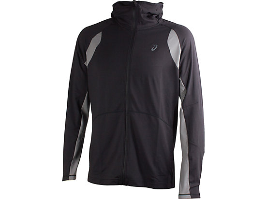 FULL ZIP HOODIE, Performance Black