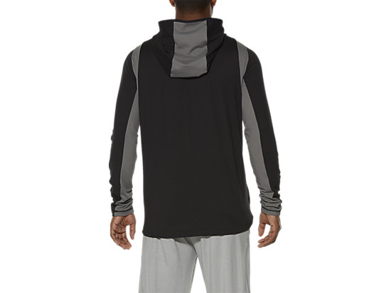 FULL ZIP HOODIE PERFORMANCE BLACK 11