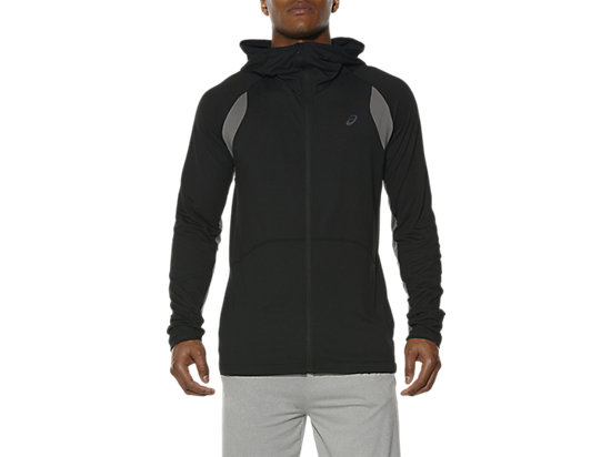 FULL ZIP HOODIE PERFORMANCE BLACK 3