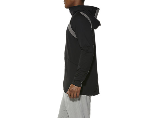 FULL ZIP HOODIE PERFORMANCE BLACK 7