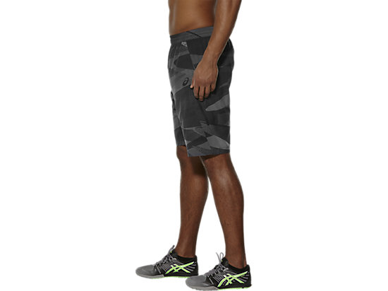 BEDRUKTE SHORT PERFORMANCE BLACK CAMO 7