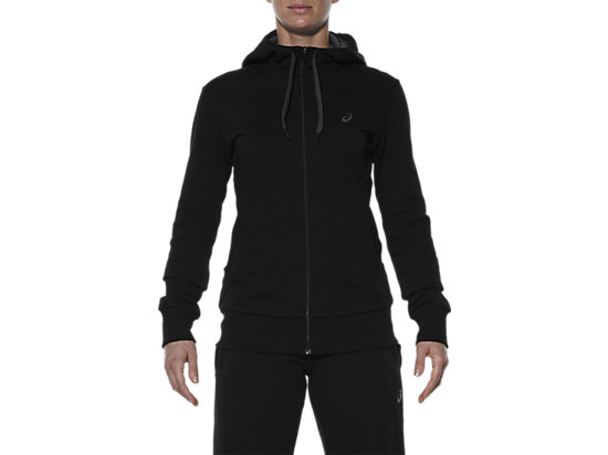 SUDADERA DE PUNTO CON CREMALLERA PERFORMANCE BLACK 7 FT