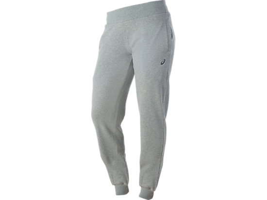 SLIM JOGGING BOTTOMS, Heather Grey